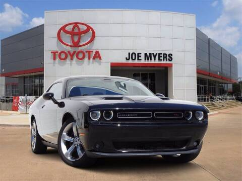 2017 Dodge Challenger for sale at Joe Myers Toyota PreOwned in Houston TX