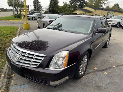 2008 Cadillac DTS for sale at RPM AUTO SALES in Lansing MI