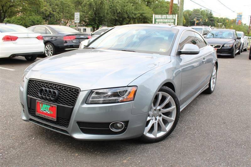 2009 Audi A5 for sale at Virginia Auto Trader, Co. in Arlington VA