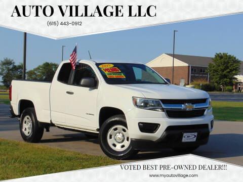 2015 Chevrolet Colorado for sale at AUTO VILLAGE LLC in Lebanon TN