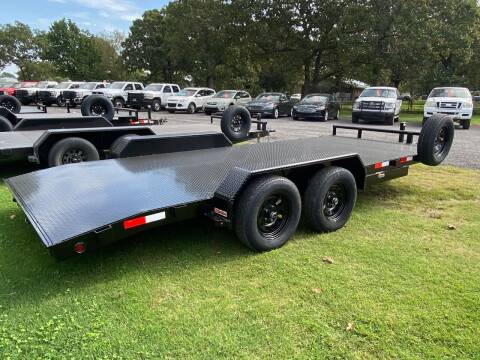 "2020 HD Trailer 83""x18' 3500lb Axles CarHauler for sale at TINKER MOTOR COMPANY in Indianola OK"