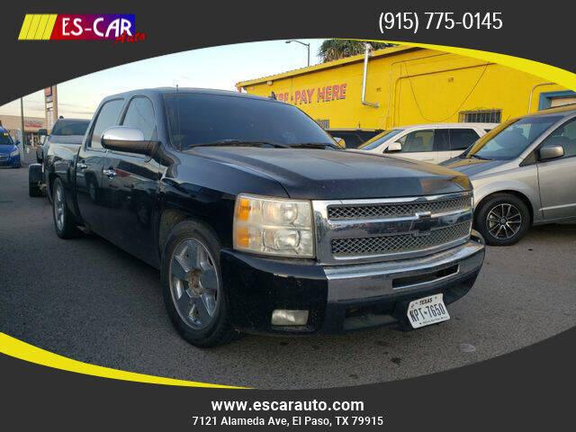 2011 Chevrolet Silverado 1500 for sale at Escar Auto in El Paso TX