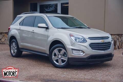 2016 Chevrolet Equinox for sale at Mcandrew Motors in Arlington TX