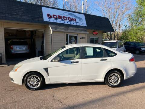 2008 Ford Focus for sale at Gordon Auto Sales LLC in Sioux City IA