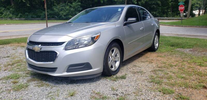2015 Chevrolet Malibu for sale at On The Road Again Auto Sales in Doraville GA