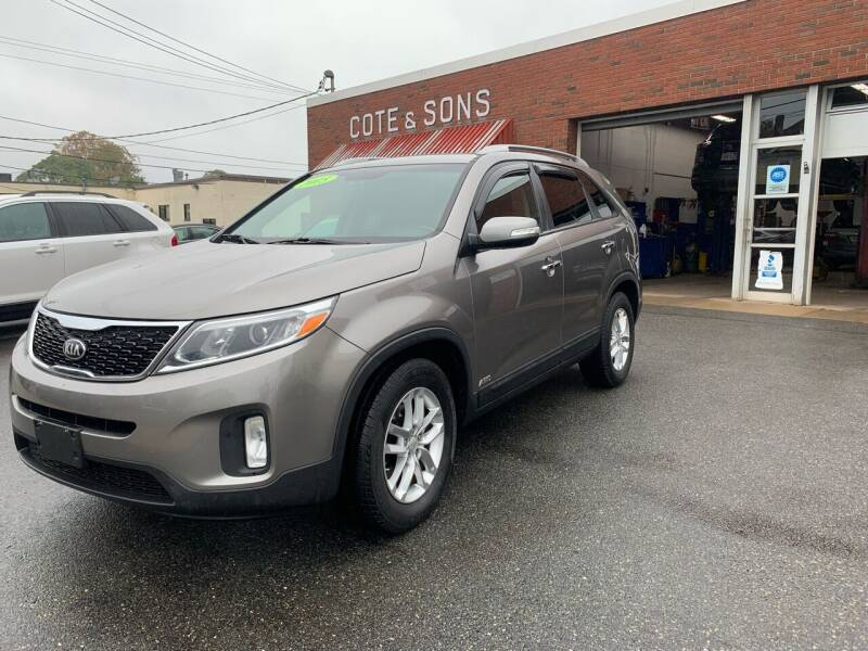 2015 Kia Sorento for sale at Cote & Sons Automotive Ctr in Lawrence MA