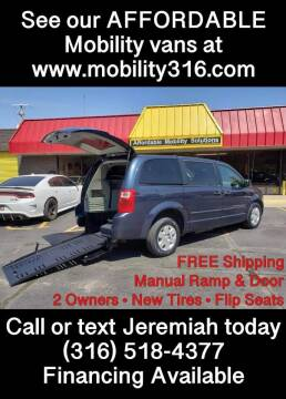 2008 Dodge Grand Caravan for sale at Affordable Mobility Solutions, LLC - Mobility/Wheelchair Accessible Inventory-Wichita in Wichita KS