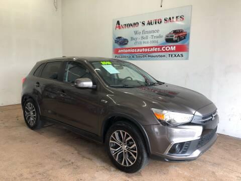 2019 Mitsubishi Outlander Sport for sale at Antonio's Auto Sales in South Houston TX