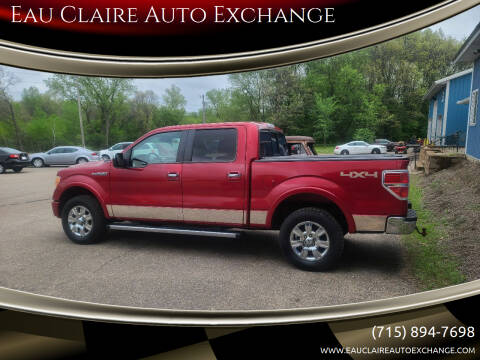 2012 Ford F-150 for sale at Eau Claire Auto Exchange in Elk Mound WI