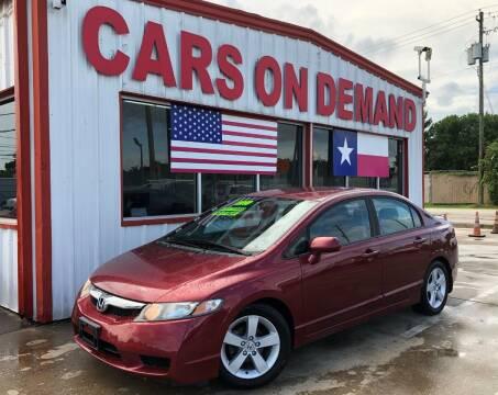 2010 Honda Civic for sale at Cars On Demand in Pasadena TX