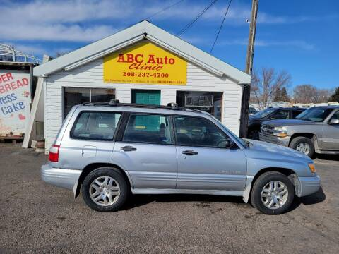 2002 Subaru Forester for sale at ABC AUTO CLINIC in Chubbuck ID