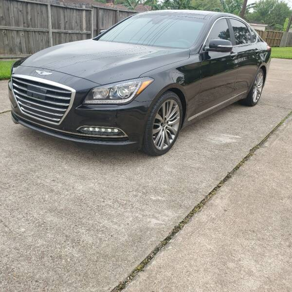 2017 Genesis G80 for sale at MOTORSPORTS IMPORTS in Houston TX