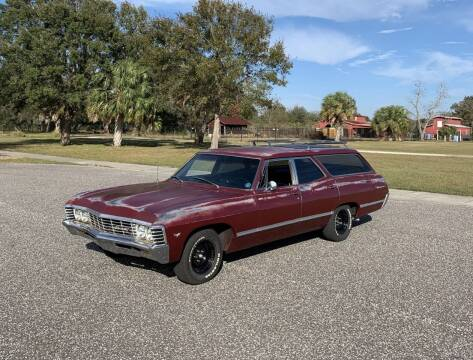 1967 Chevrolet Impala for sale at P J'S AUTO WORLD-CLASSICS in Clearwater FL