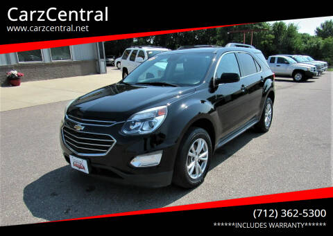 2016 Chevrolet Equinox for sale at CarzCentral in Estherville IA