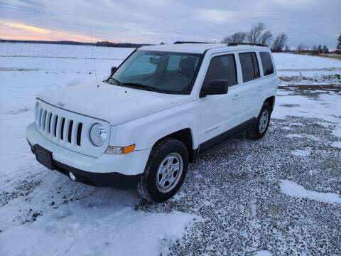 2016 Jeep Patriot for sale at Shinkles Auto Sales & Garage in Spencer WI