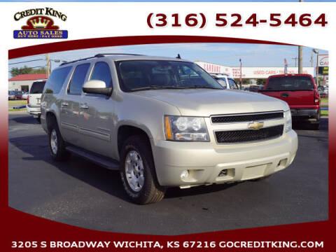 2010 Chevrolet Suburban for sale at Credit King Auto Sales in Wichita KS