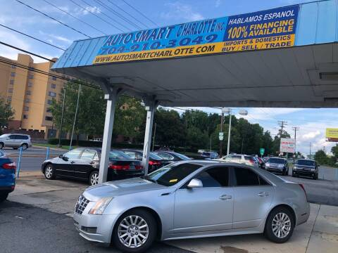 2012 Cadillac CTS for sale at Auto Smart Charlotte in Charlotte NC