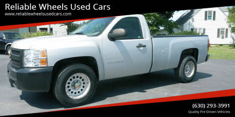 2010 Chevrolet Silverado 1500 for sale at Reliable Wheels Used Cars in West Chicago IL