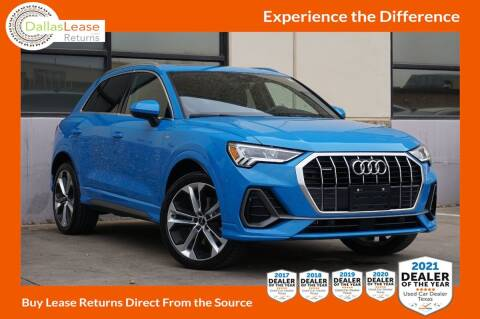 2019 Audi Q3 for sale at Dallas Auto Finance in Dallas TX