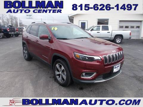 2019 Jeep Cherokee for sale at Bollman Auto Center in Rock Falls IL