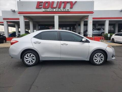 2017 Toyota Corolla for sale at EQUITY AUTO CENTER in Phoenix AZ
