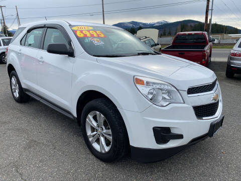 2015 Chevrolet Equinox for sale at Low Auto Sales in Sedro Woolley WA