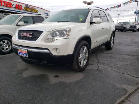 2008 GMC Acadia for sale at Better All Auto Sales in Yakima WA