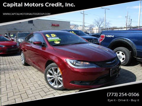 2015 Chrysler 200 for sale at Capital Motors Credit, Inc. in Chicago IL