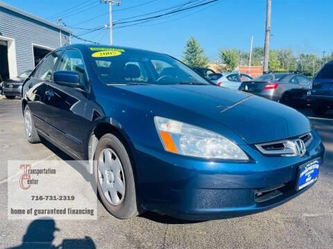 2005 Honda Accord for sale at Transportation Center Of Western New York in Niagara Falls NY
