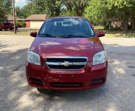 2011 Chevrolet Aveo for sale at CARWIN MOTORS in Katy TX