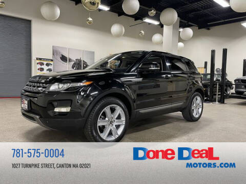 2013 Land Rover Range Rover Evoque for sale at DONE DEAL MOTORS in Canton MA