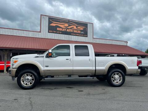 2011 Ford F-350 Super Duty for sale at Ridley Auto Sales, Inc. in White Pine TN
