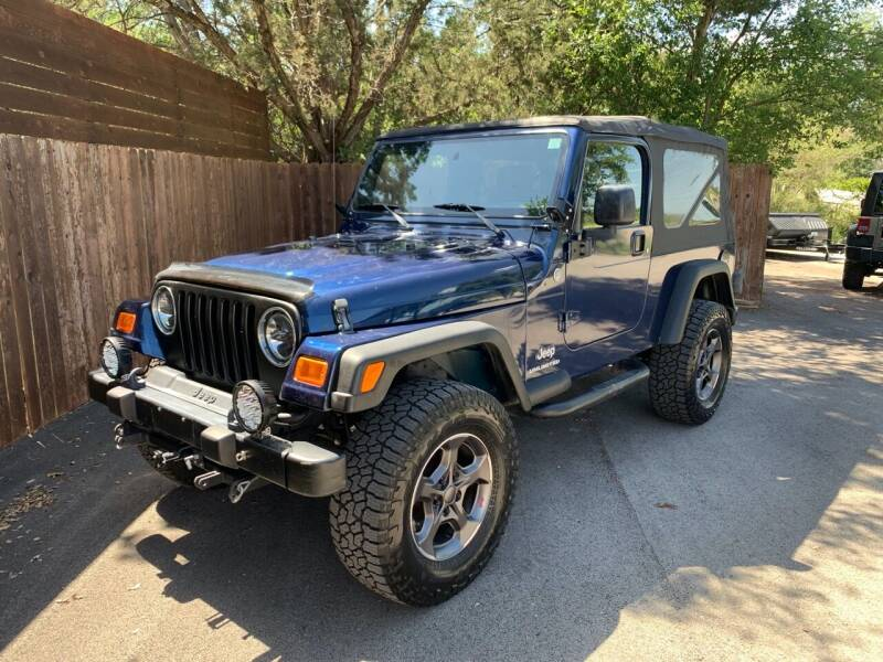 2005 Jeep Wrangler for sale at TROPHY MOTORS in New Braunfels TX