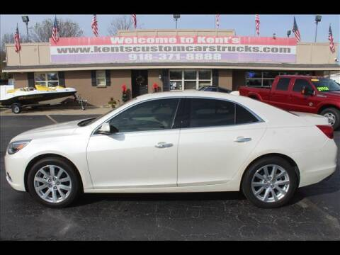 2013 Chevrolet Malibu for sale at Kents Custom Cars and Trucks in Collinsville OK