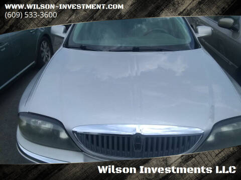2003 Lincoln LS for sale at Wilson Investments LLC in Ewing NJ