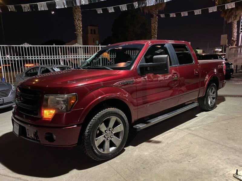 2013 Ford F-150 for sale at Monaco Auto Center LLC in El Paso TX
