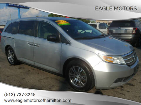 2011 Honda Odyssey for sale at Eagle Motors in Hamilton OH
