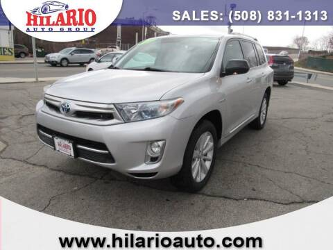 2012 Toyota Highlander Hybrid for sale at Hilario's Auto Sales in Worcester MA