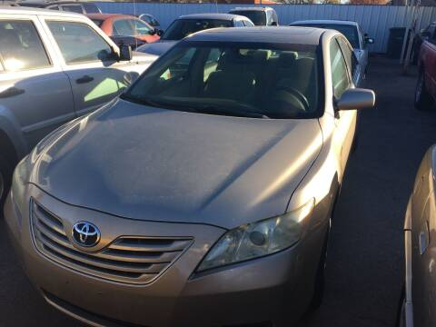 2007 Toyota Camry for sale at A & G Auto Sales in Lawton OK