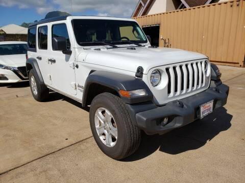 2019 Jeep Wrangler Unlimited for sale at Ohana Motors in Lihue HI