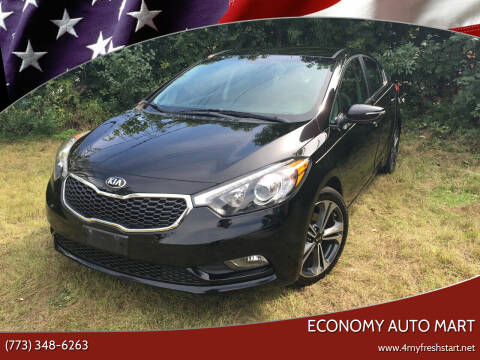 2015 Kia Forte for sale at ECONOMY AUTO MART in Chicago IL