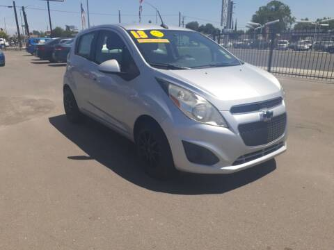 2013 Chevrolet Spark for sale at COMMUNITY AUTO in Fresno CA