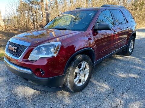 2010 GMC Acadia for sale at Speed Auto Mall in Greensboro NC