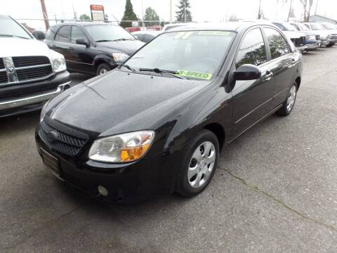 2008 Kia Spectra for sale at Gold Key Motors in Centralia WA