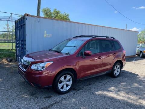 2015 Subaru Forester for sale at Queen City Classics in West Chester OH