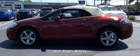 2007 Mitsubishi Eclipse Spyder for sale at Matt Hagen Motors in Newport NC