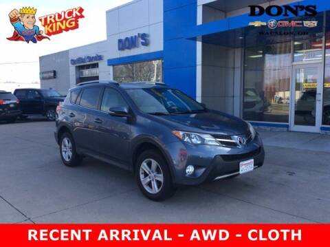 2014 Toyota RAV4 for sale at DON'S CHEVY, BUICK-GMC & CADILLAC in Wauseon OH