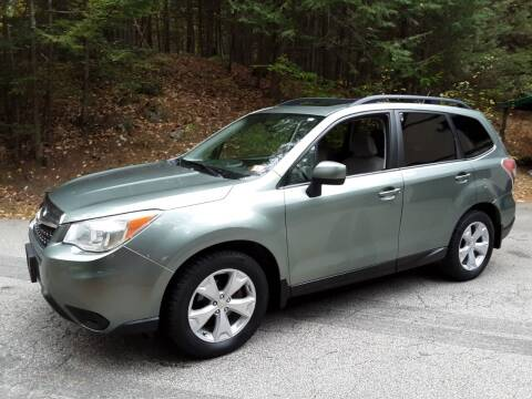 2014 Subaru Forester for sale at H P M Sales in Goffstown NH