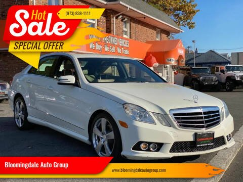 2010 Mercedes-Benz E-Class for sale at Bloomingdale Auto Group - The Car House in Butler NJ