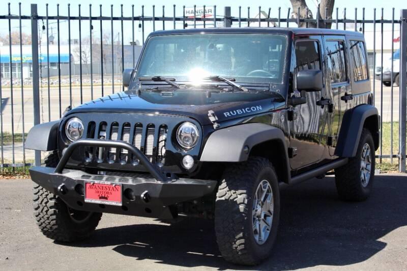 2016 Jeep Wrangler Unlimited for sale at Avanesyan Motors in Orem UT